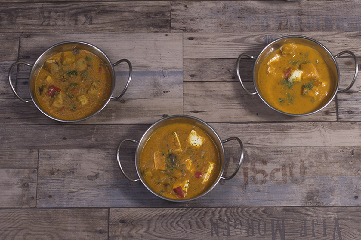 Café del Tíbet Zaragoza. Platos especiales hindúes y tibetanos: Currys.