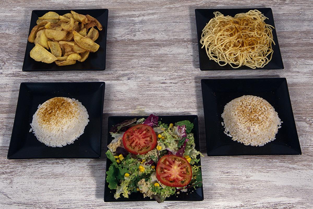 Café del Tíbet Zaragoza. Complementos para los Platos especiales hindúes y tibetanos.
