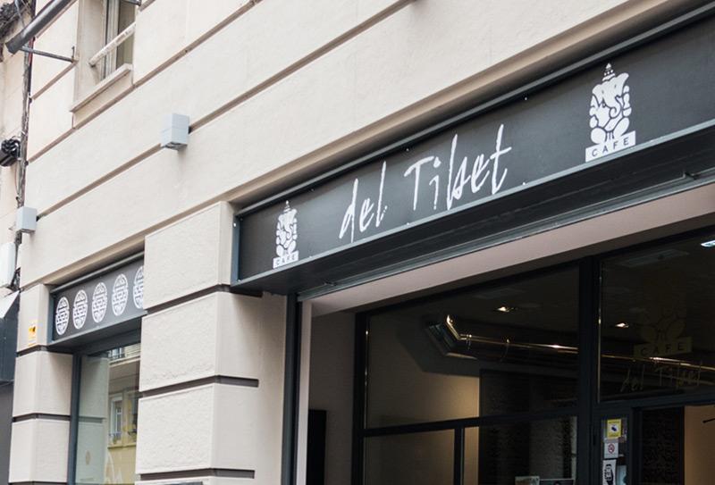 Café del Tíbet. Zurita 4, Zaragoza. Apertura Café del Tíbet.