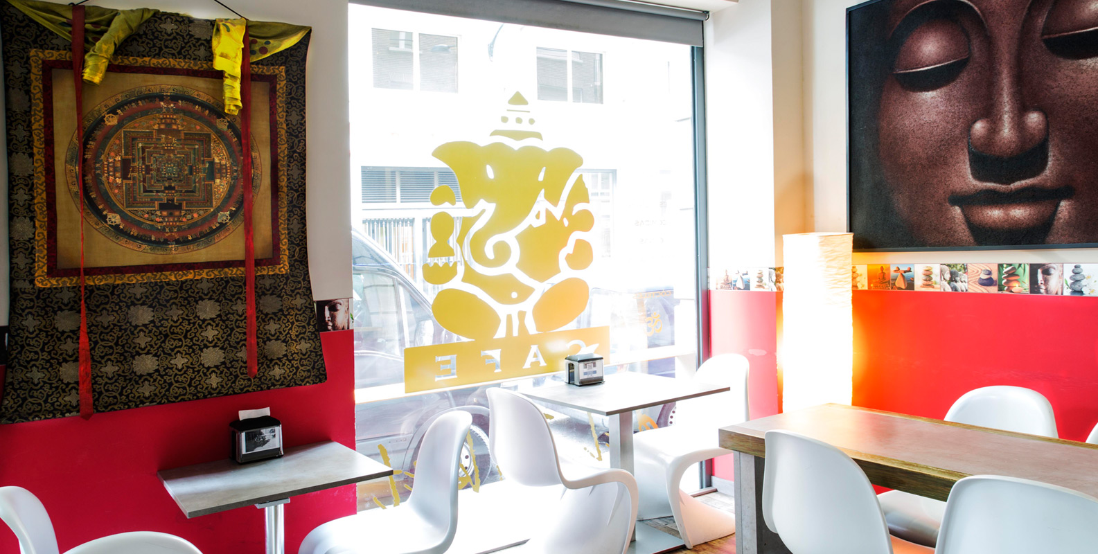 Café del Tíbet. Zurita 4, Zaragoza. Restaurante y Cafetería, ambiente y cultura Tibetana, Nepalí e HIndú
