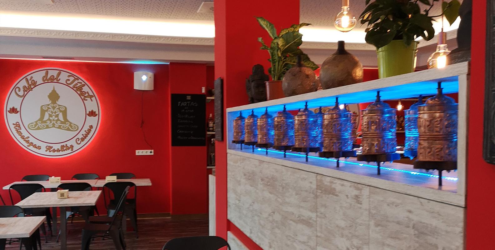 Franquicias de los Restaurantes Café del Tíbet. Zurita 4 y Gómez Laguna 22, Zaragoza. Deliciosa cocina nepalí, tibetana e hindú con bases mediterráneas.